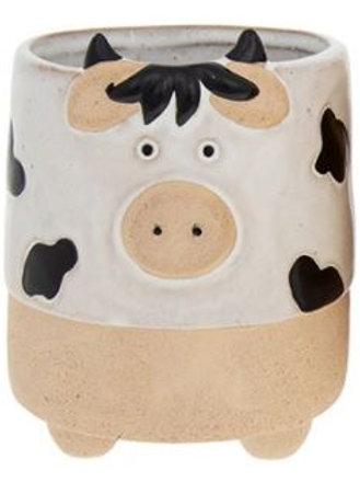 Cow Plant Pot