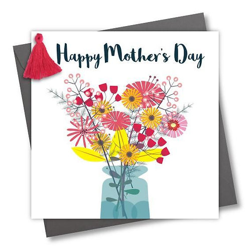Claire Giles 'Flowers in Vase' Mother's Day Card