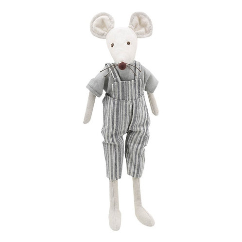 Linen Mr Mouse by Wilberry Toys