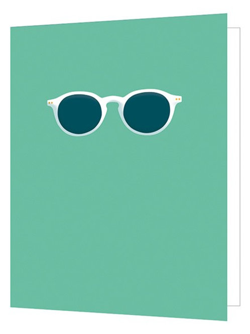 Bright New Things' Sunglasses' Card