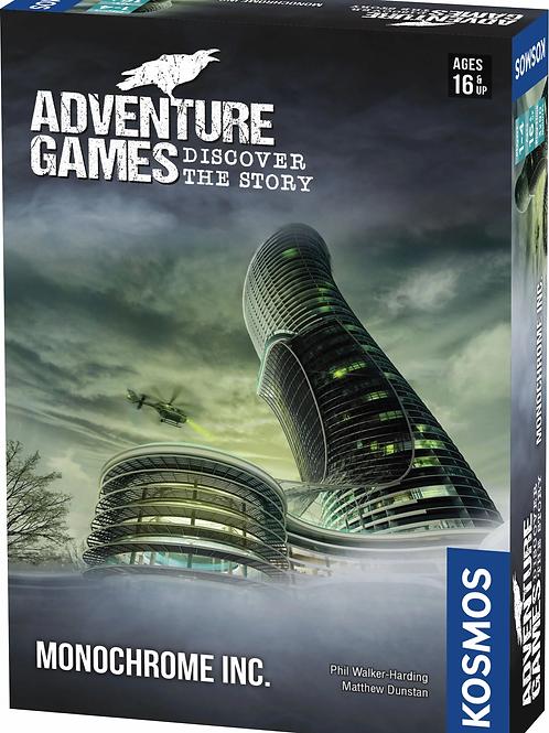 Adventure Games: Monochrome Inc