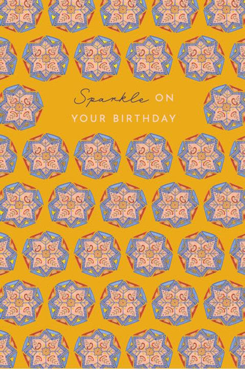 Tranquility 'Lotus Flowers' Birthday Card