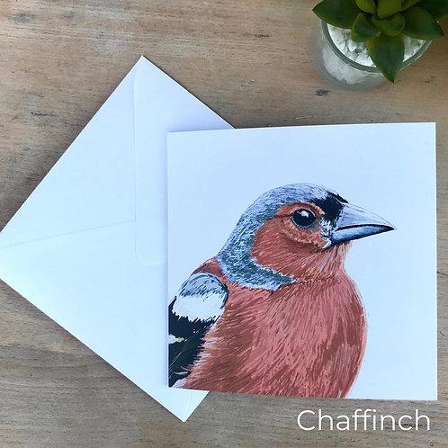 Chaffinch Card