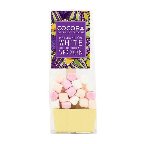 White Hot Chocolate & Marshmallow Spoon