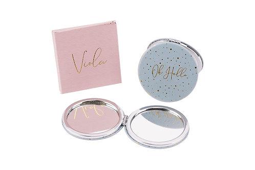 Voila! 'Oh Hello' Compact Mirror