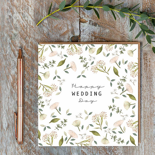 Toasted Crumpet 'Wedding Day' Card