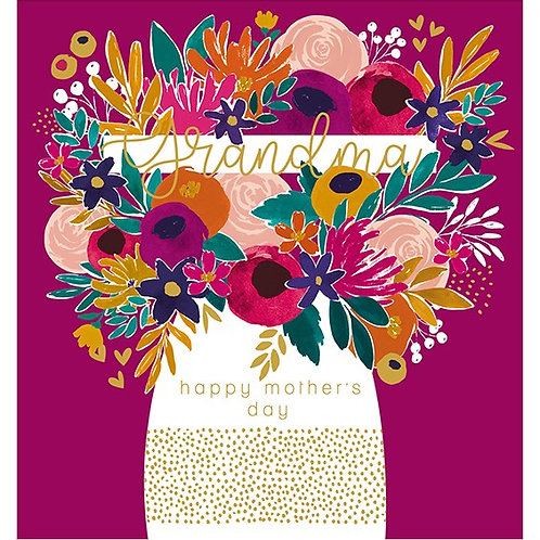 Grandma Happy Mother's Day Card