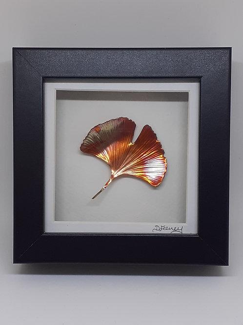 Ginkgo Leaf Copper Artwork