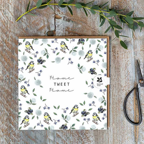 National Trust 'Home Tweet Home' New Home Card