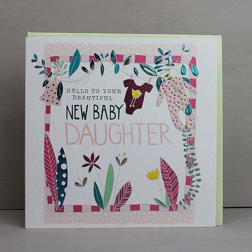 Molly Mae 'New Baby Daughter' Card