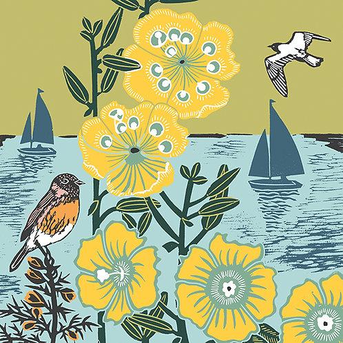Nature Trail 'Sailing Boats' Card
