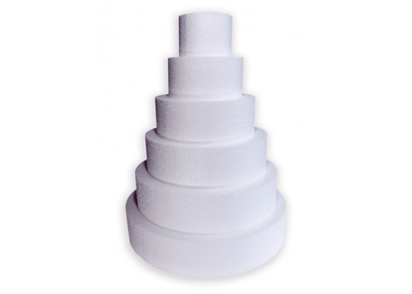 Cake Dummies, Round 9 x 4 (H) inch