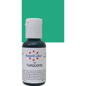 Americolor Gel Turquoise 0.75 oz