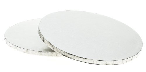 Cake Board, Round (Silver) 11 x 1/2 inch (thick)