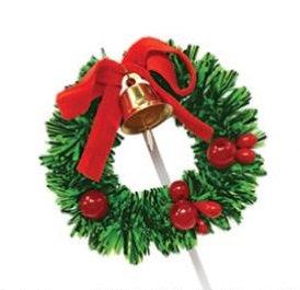 Christmas Wreath Picks 4 pcs