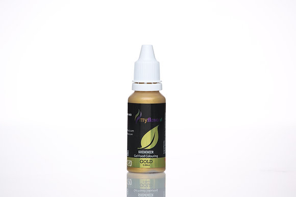 My Flavor Shimmer Color 0.88oz, Gold