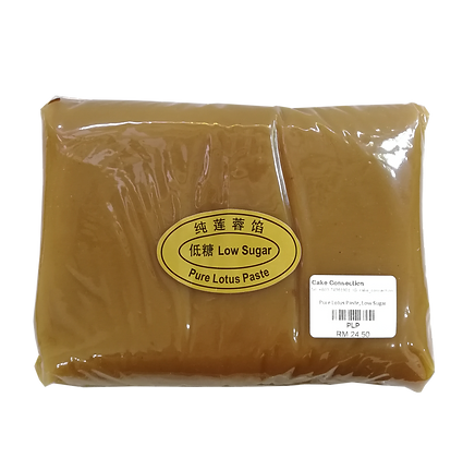 Low Sugar Pure Lotus Paste 1kg, Low Sugar