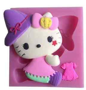 Halloween Hello Kitty Silicone Mold