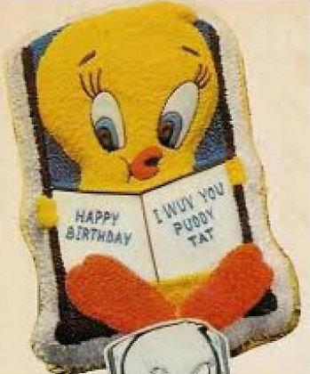 Tweety Bird with Book