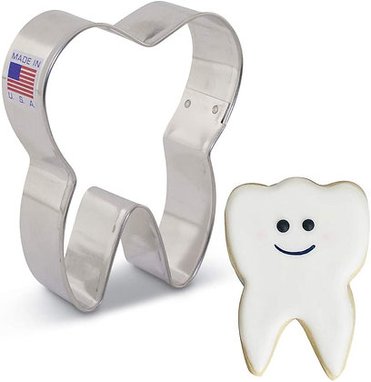 """Cookie Cutter: Tooth 3.5"""""""