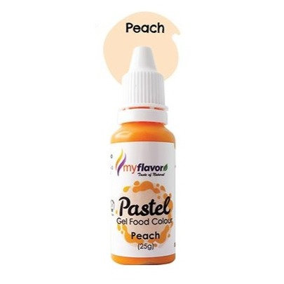 My Flavor Pastel Gel Colour  0.88oz - Peach