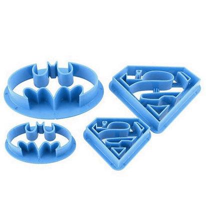 Superhero Cutter Set of 4