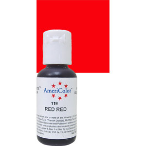 Americolor Gel Red Red 0.75 oz