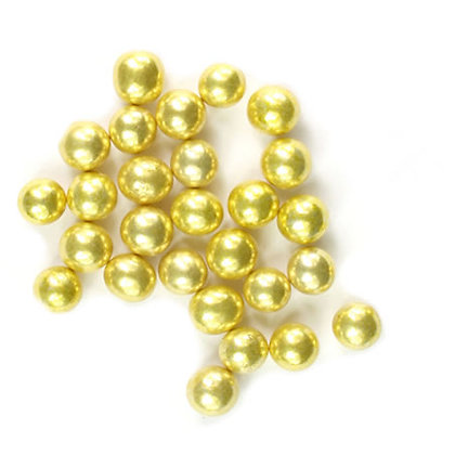 4mm Gold Dragees 80g