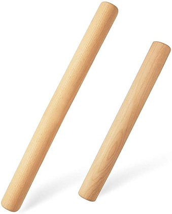 Wooden Rolling Pin, 9.5 inch