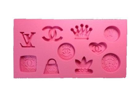 LV/Gucci Famous Brand Silicone Mold