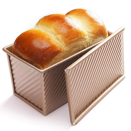 Non-stick Bread Loaf Pan with Cover (450g)