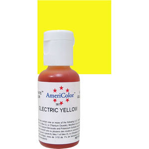 Americolor Gel Electric Yellow 0.75 oz