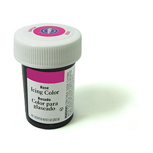 Wilton Icing Color 1oz - Rose