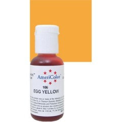 Americolor Gel Egg Yellow 0.75 oz