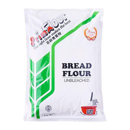 Bread/ High Protein Flour 1kg, Unbleached (Prima)