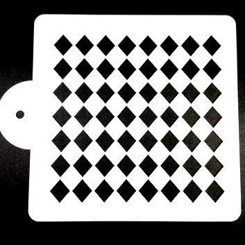 Diamond/Squares Stencil