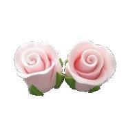 Rosebuds, Pink 2cm 16 pcs