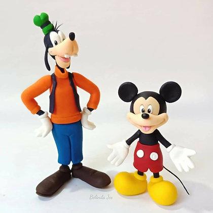 Mickey & Goofy Figurine Class