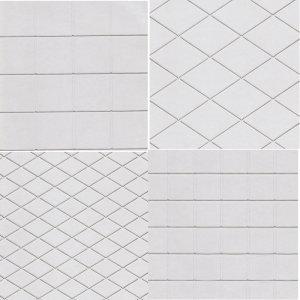 Diamond Square Impression Mats Set of 4