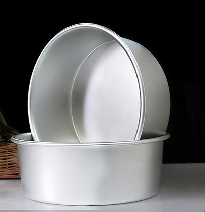 9 x 3H inch Fixed Bottom Round Cake Pan