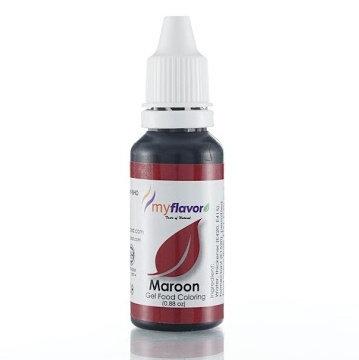 My Flavor Gel Paste Colour  0.88oz - Maroon