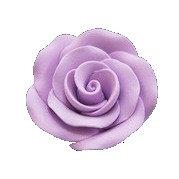 Alice Rose Large, Ligt Violet 1-3/4 inch 9 pcs