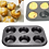Thumbnail: 6 Cavity Non-stick Muffin Pan