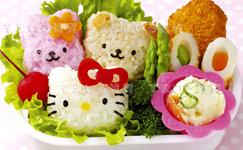 Hello Kitty & Friends Onigiri (Rice Ball) Press Set/3