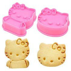 Hello Kitty Cutter/Embosser Set of 2