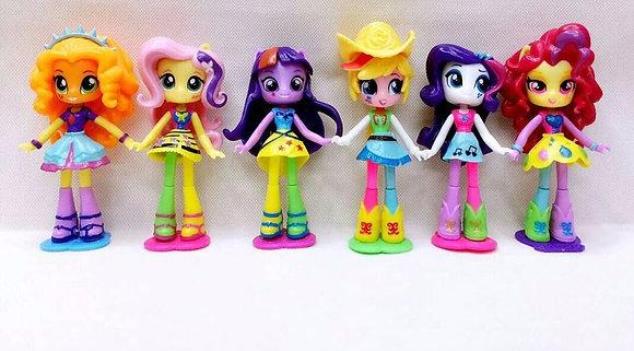 My Little Pony Girls Set of 6