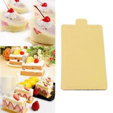 Mini Cake Boards, Rectangular (Gold) 10 x 15 cm, 20s