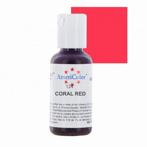 Americolor Gel Coral Red 0.75 oz