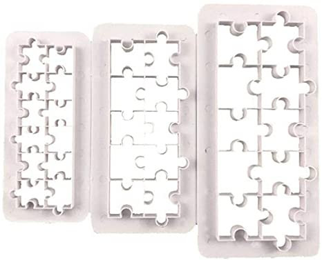 Jigsaw Puzzle Cutters Set of 3