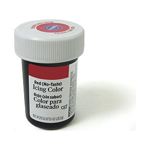 Wilton Icing Color 1oz - Red-No-Taste